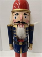 Wooden nutcracker. 15.5in Tall.