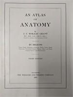 Atlas of anatomy by J.C. Boileau Grant, third