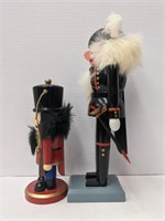 Group of 4 nutcrackers, ranging from 7in Tall to