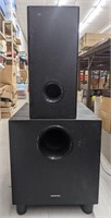 RCA RT2911 subwoofer and Onkyo model SKW-391