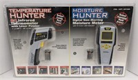 Infrared thermometer with laser pointer and