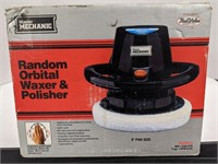 Master mechanic Random Orbital waxer and