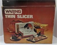 Waring thin slicer deli slicer. FS410-1 White.