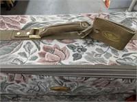 Destinations floral pattern rolling suitcase.