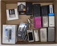 Flat of assorted vaporizer batteries and