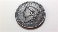 "1834 ""large 8"" large Cent"