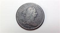 "1806 Half Cent ""small 6 Stemless"""