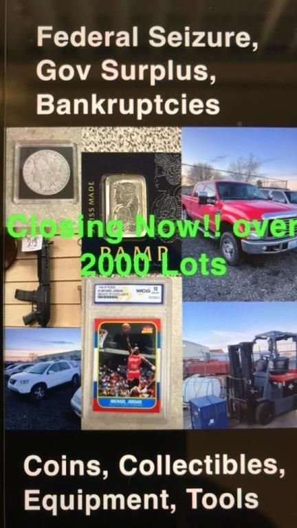 Vail International Auctioneers January 23rd 2021 Online Only