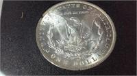 1882 CC GSA Morgan silver dollar