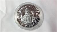 "1oz Silver proof legend of King Arthur ""King"