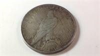 1924 US Silver peace dollar