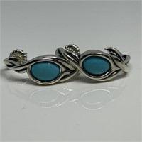SILVER / GOLD ONLY NATIVE AMERICAN JEWELRY SQUASH BLOSSOMS M