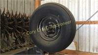 1996 Yetter 3530 FF Rotary Hoe, 30', Gage Wheels,