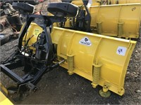 "Fisher 7'6"" Minute Mount 2 Snowplow"