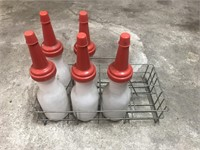 (5) Oil Bottles and Carrier
