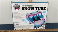 New Ice Monster Snow Tube