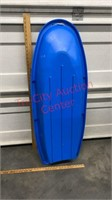 New 48 inch Plastic Sled for 1 or 2 riders