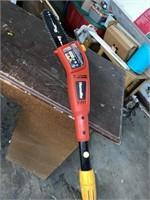 Homelite electric pole saw