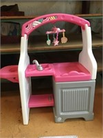 Kids toy baby changing station  36 X 33