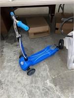 Safe start kids scooter