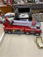 Kids toy fire truck