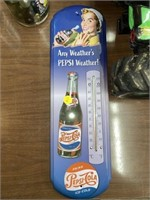 Pepsi cola outdoor Weather thermometer