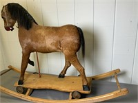 Beautiful Antique Rocking Horse