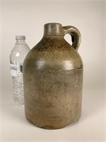 Small handled stoneware jug