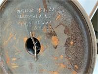 Vintage metal ashtray stand