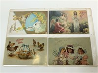 1900's Easter Postcards lot of 65