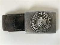German Army Belt Buckle with Tongue Maker
