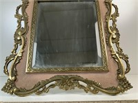 Antique Bronze Easel style Mirror