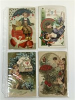 Antique Valentine's Postcard lot