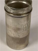 Vintage Sterling Silver Men Toiletries travel set