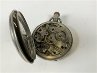Standard Watch Co. pocket watch in stand