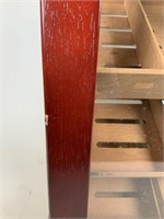 Contemporary upright humidor cabinet