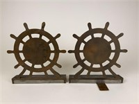 Old Ironsides U.S. Frigate Constitution bookends