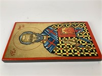 Religious Icon painted on wood