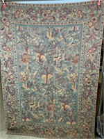 Tapestry with animals