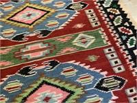 Woven Navajo style rug