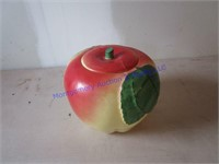 APPLE COOKIE JAR SET