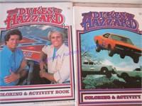 DUKES OF HAZZARDS & NEW KIDS ON THE BLOCK BOOKS +