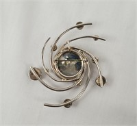Vintage Sterling Pin Brooch Marked Ss A P