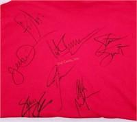 Signed 1980s Rockers Shirt -  Poison Ratt & More