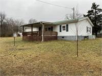 D/W Mobile Home & 0.87+- Acres, Outbuildings