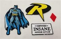 Lot Of Batman Patches Joker Arkham Harley