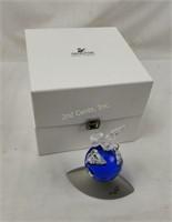 Swarovski Crystal Planet Vision W/ Dove 2000 Peace