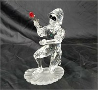 Swarovski Crystal Scs Harlequin Masquerade Figure