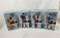 Set Of 4 Lebron All Star Vinyl Figures Upper Deck