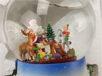 Party Lite Santa At His Shop Tealight Globe In Box